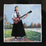 La fille à la guitare