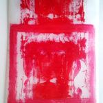 Verrière A (Acrylique sur calque)