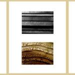 Nervures, hommage à P. Soulages (Triptyque)