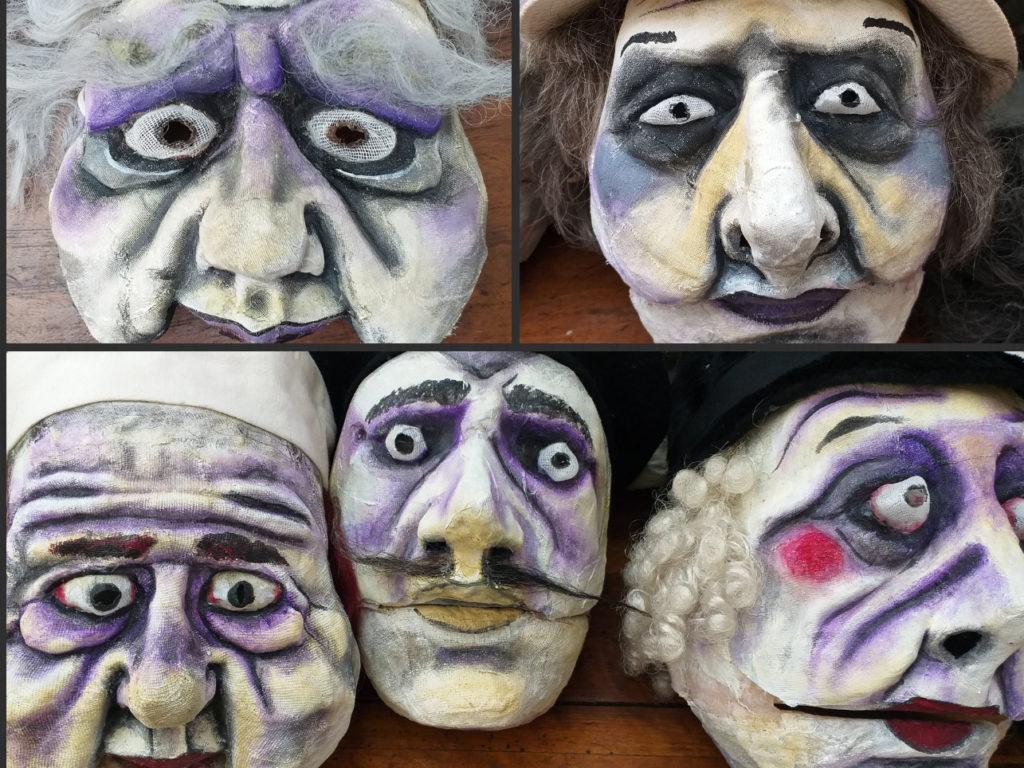 """Stage """"Explorer les masques"""""""